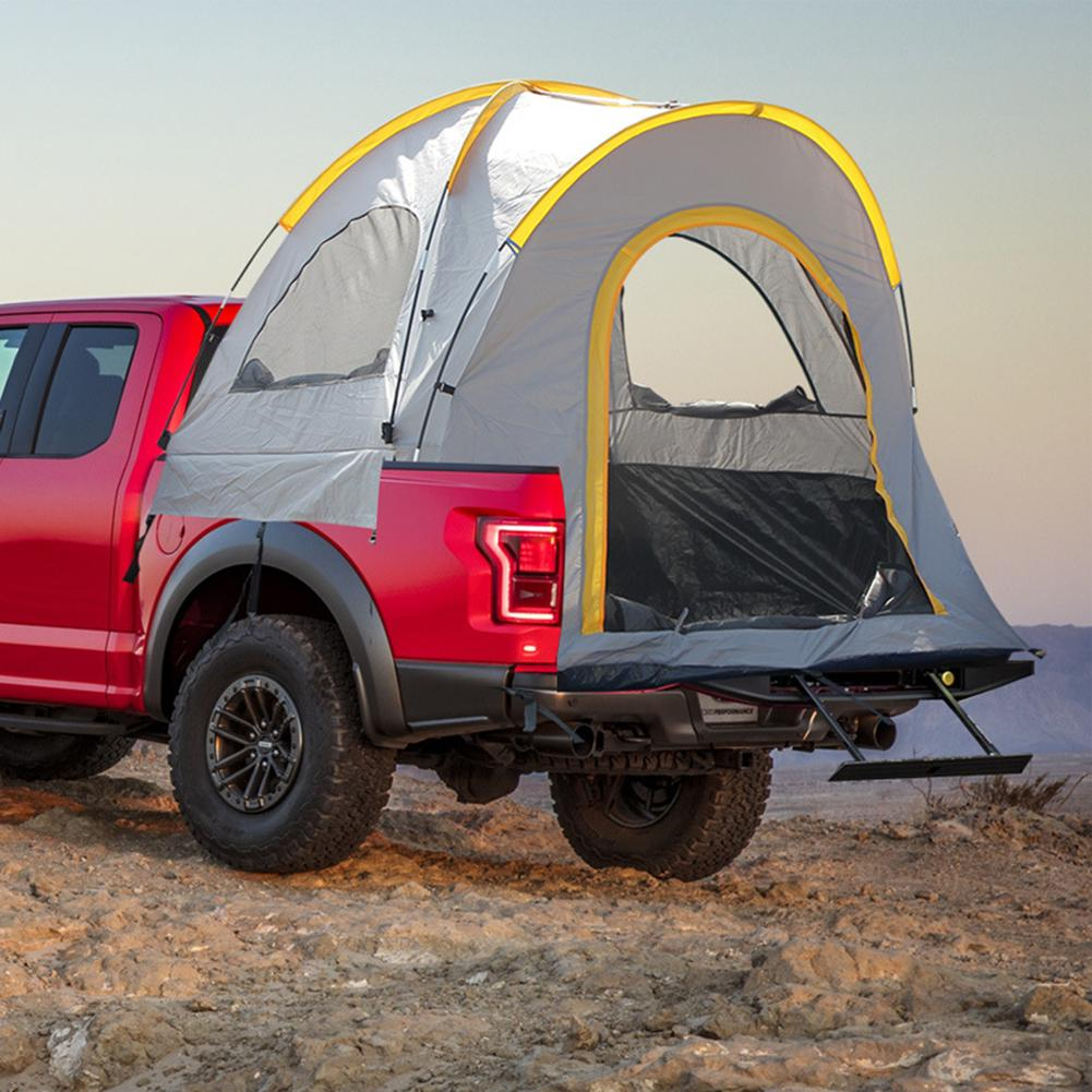 5.5 Feet Truck Roof Tent For Pickups Compact Bed Tent Car Fishing POP UP Travel Camping Sleeping