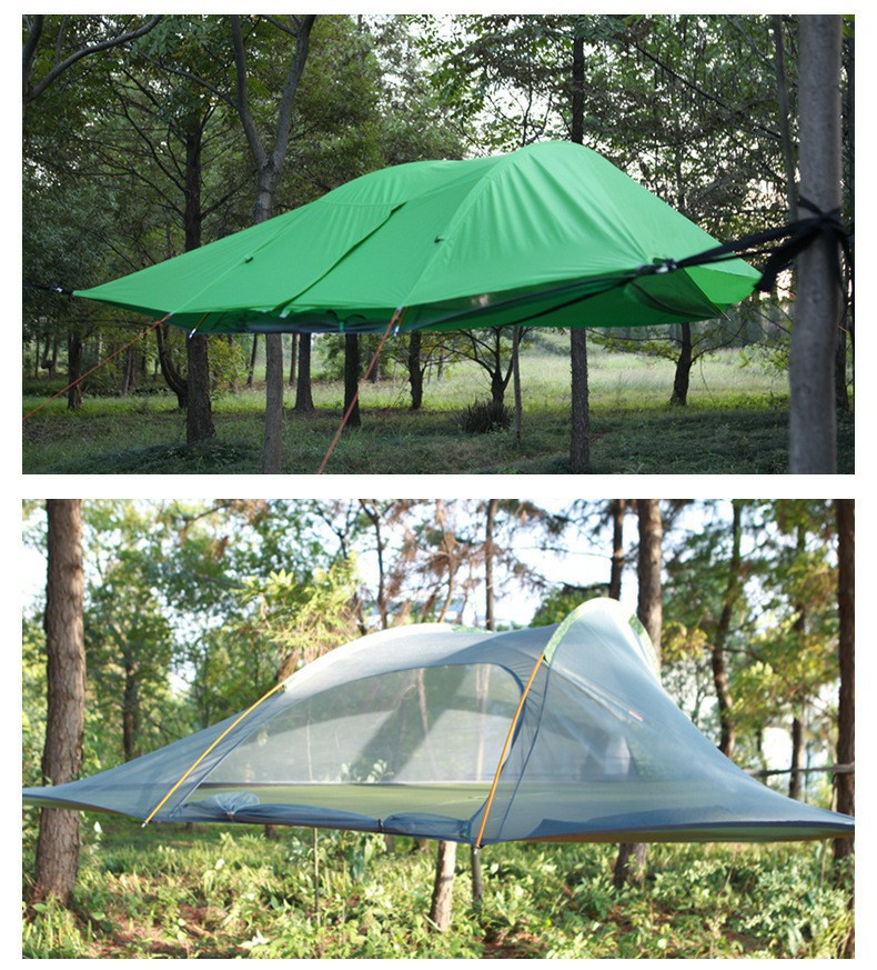 Hanging Tree Tent  Outdoor Traveling Mosquito Nets Camping Ultralight Waterproof Suspension Hammock Tent