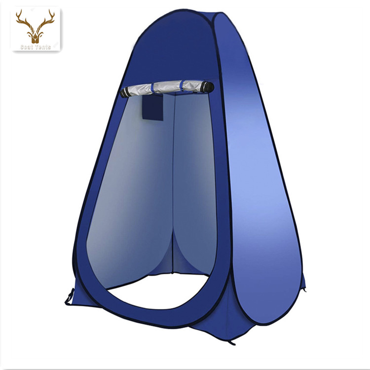 Mobile Outdoor Beach Bathroom Auto Open Camping Shower Tent Swimming Changing Fishing Tent Portable Toilet 1-2 Person Tent